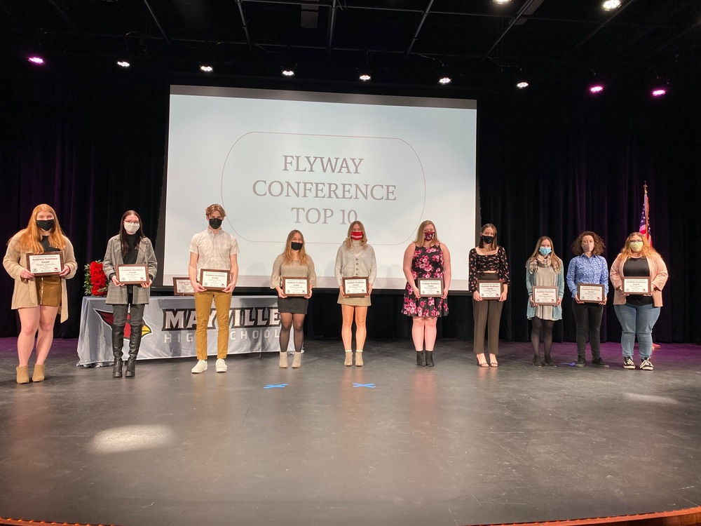 Wisconsin Flyway Conference Academic Top Ten