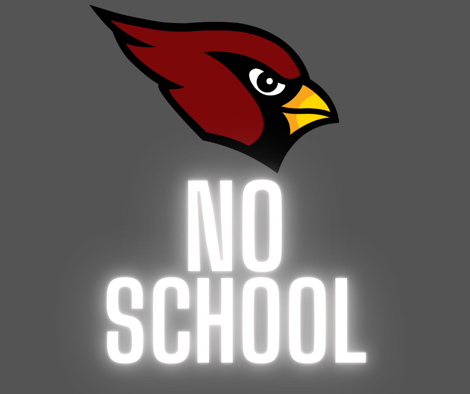 No School on Monday, Jan 25
