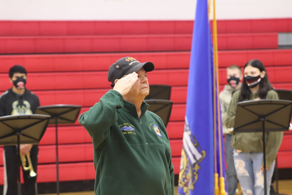 Veteran's Day Celebration at Mayville