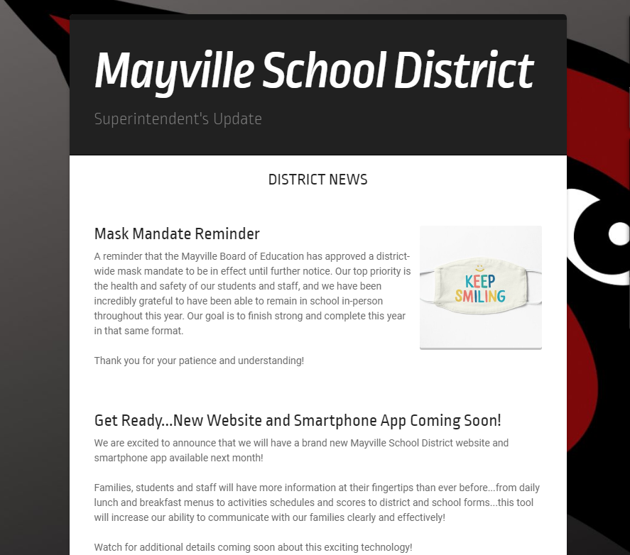 Check out our District Newsletter!